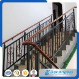 Barras de escada moderna de aço inoxidável interior