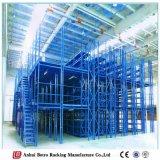 Entrepôt en acier préfabriqué d'entrepôt en acier de l'Allemagne, mezzanine de mémoire de la Chine de pipe