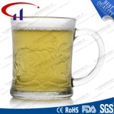 copo de vidro transparente do Sell 240ml quente para o café (CHM8155)