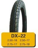 Neumático profesional y tubo interno (3.00-18 2.75-15) de la motocicleta de la fábrica