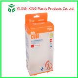挿入びんの包装のためのプラスチックPPの印刷の折る包装ボックス