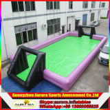 Lustiger Inflatable Soap Fußballplatz mit Factory Lower Price