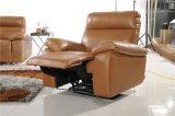 El sofá de cuero usado hogar fija el Recliner automático de los muebles
