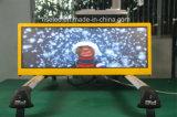Visualización de LED al aire libre vendedora superior del taxi del alto brillo P2.5 P5