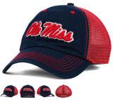 Gorra de béisbol clásica de la tela cruzada del algodón del estilo de la curva con el gancho de leva y el bucle - posteriores