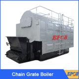 La griglia della catena di alta efficienza ha automatizzato la caldaia a vapore infornata carbone