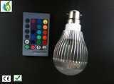 De Verlichting van de Partij van de Afstandsbediening KTV van de Lampen E27 GU10 E14 B22 AC85V-265V van Dimmable van RGB LEIDENE Bol van de Verlichting