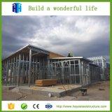 Abrigo prefabricado de la casa prefabricada del edificio residencial de la estructura de acero del almacén del bajo costo