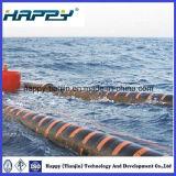 Manguito de dragado flotante del infante de marina de goma flexible de la descarga