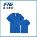 T-shirt 100% d'hommes de chemise de circuit de collet de Fashionround de coton