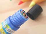 24 [بكس] لون قلم في [بلستيك كس] أنابيب حامل