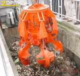 Motor-Hydraulisches Abfall-orange Schalen-Zupacken