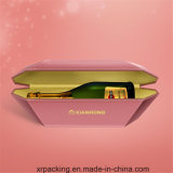 Rectángulo de papel de empaquetado del vino de lujo/rectángulo de regalo