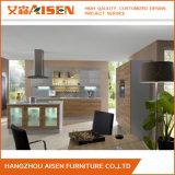 Superficie di legno con l'armadio da cucina della mobilia della casa della scheda della melammina
