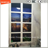 la stampa del Silkscreen della vernice di 3-19mm Digitahi/incissione all'acquaforte acida/hanno glassato/piano del reticolo/hanno piegato Tempered/vetro temperato per la parete & dell'hotel/pavimento/divisorio domestici con SGCC/Ce&CCC&ISO