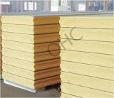 Painel do poliuretano do material de construção