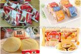 Am meisten benutzter Vanillepudding-Kuchen-Drehverpackungsmaschine-voll automatische Verpackmaschine