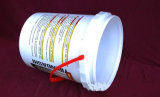 De Plastic Emmer Materiële pp van de Druk van de Film van de Overdracht van de Hitte van de Korting van China