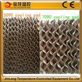 Jinlong 고열 통제를 냉각하는 7090/5090 증발 냉각 패드 열기