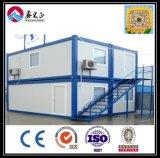 Chinesische niedrige Kosten-Berufsfertigung leichtes des Zwischenlage-Panel-Behälter-Haus-vorfabrizierten Hauses (XGZ-TX-002)