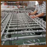 De Omheining van het aluminium voor Tuin, het Traliewerk van de Binnenplaats van het Aluminium