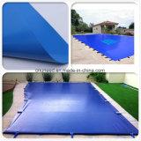 Anti-UVwasserdichte überzogene Plane-Swimmingpool-Sicherheitsabdeckungen