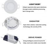 LED-Instrumententafel-Leuchte