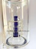 Tubulações de água de vidro das tubulações de fumo do protetor de respingo de 16 polegadas