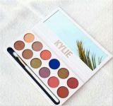 Kylie 2017 Jenner la gama de colores real del sombreador de ojos de los colores de la gama de colores 12 del melocotón