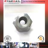 Peça do aço inoxidável da elevada precisão pelo CNC que faz à máquina para a máquina