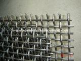 高炭素の鋼鉄によってひだを付けられる網目スクリーン