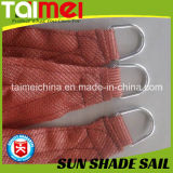 HDPE Net, Sun Shade Sail, Bege / Blue / Green Color, tratado com UV