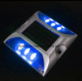 Europa introduziu o marcador de piscamento solar da estrada do parafuso prisioneiro da estrada da liga de alumínio/diodo emissor de luz