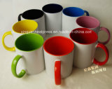 Atacado 11oz Ceramic Inner & Rim Color Mug