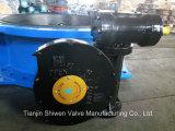Клапан-бабочка Dn1200 Di Ggg50 Фланца с коробкой передач