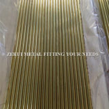 "2-1 / 2 ""X1.2mm Seamless Brass Round Tube pour chauffage"