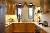 2017 Mobiliário de armário de cozinha de madeira maciça de design novo Yb-1706004