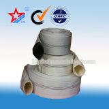 resistência do envelhecimento de 50mm da mangueira da luta contra o incêndio da lona do algodão do PVC