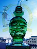 Mobiusのマトリックスのすてきな卵の頭骨の再資源業者の石油掘削装置のWaterpipeのコロナのHeadnectarのガラス配水管