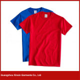 卸し売り円形の首の平野の男女兼用のTシャツ(R91)