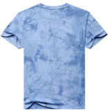 T-shirt coloré d'impression de sublimation de polyester de logo d'OEM