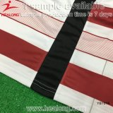 Chemises 2017 du football de sublimation de teinture d'aperçu gratuit de Healong