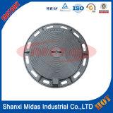 Fornecimento dúctil Duplo Seal bloqueável Manhole Cover Ferro com quadro E124
