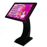 De reclame van LCD de Vloer die van de Vertoning de Kiosk van het Scherm van de Aanraking van 47 Duim bevinden zich