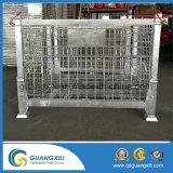 Envase amontonable del acoplamiento de alambre de acero inoxidable de la alta calidad para el tipo de elevación