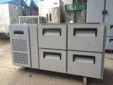 Коммерчески подгонянный холодильник таблицы работы нержавеющей стали