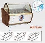 Coffret d'étalage de crème glacée glacée/étalage d'affichage (DS-1200)