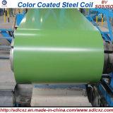 0.14-0.8mm PPGI Baumaterial-Farbe beschichtete galvanisierten Stahlring