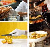 Kleines MOQ hohes Quanlity Wegwerfpuder-freie Nitril-Handschuhe für Lebensmittelindustrie