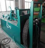 Fio de aço usado do pneu que separa a máquina/sistema Waste reusar do pneumático